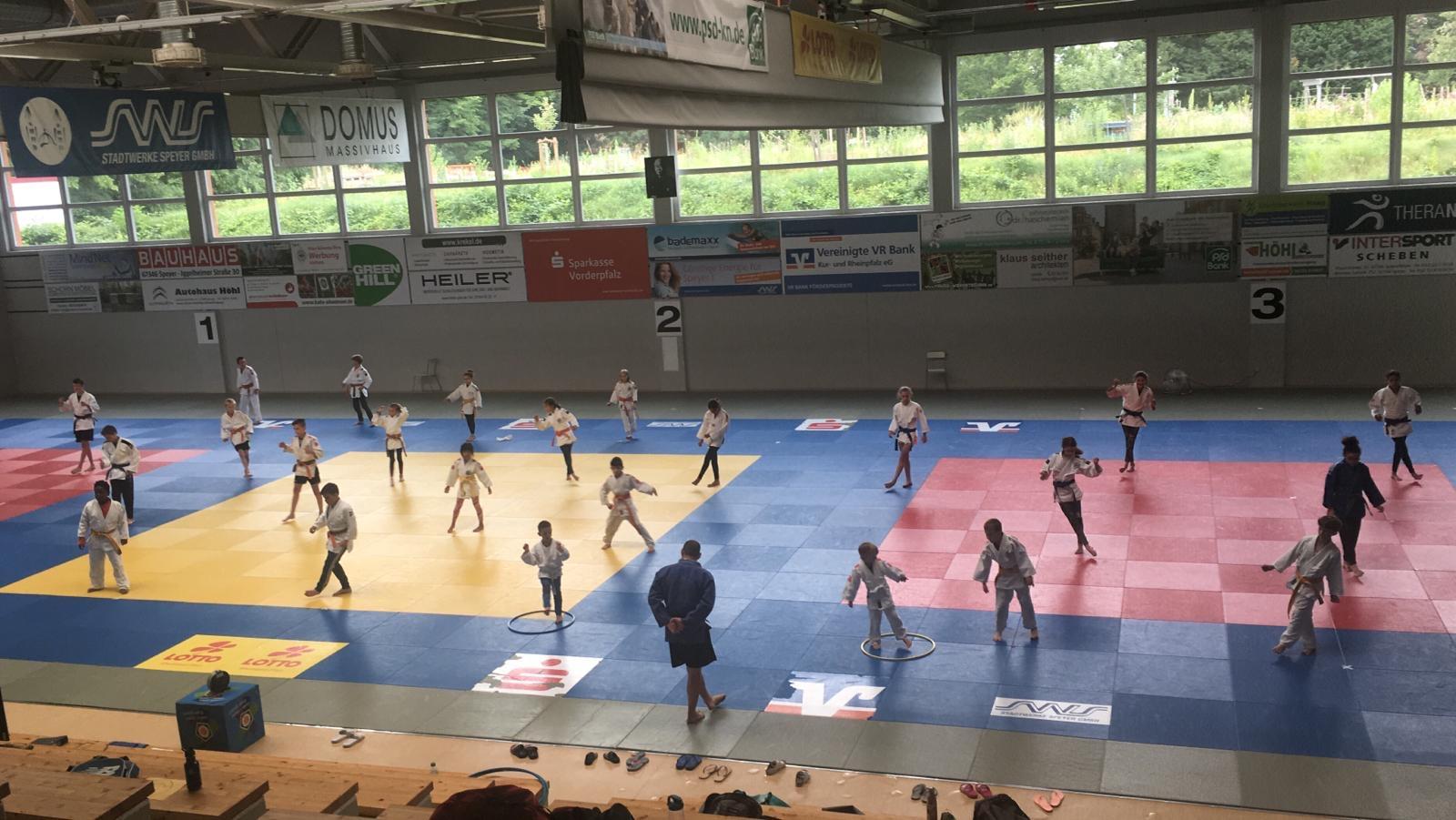Interreg Judo Training U10-U12-U15 - 13.06.2020