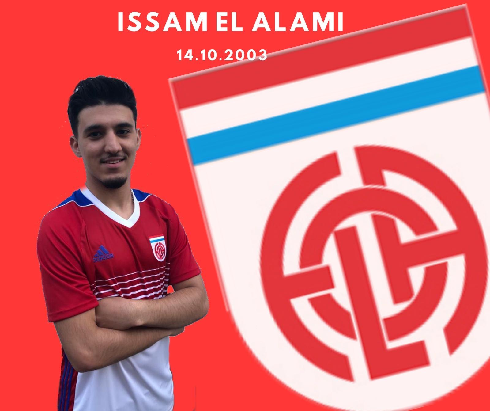 Bienvenu à Issam au CS FOLA Esch
