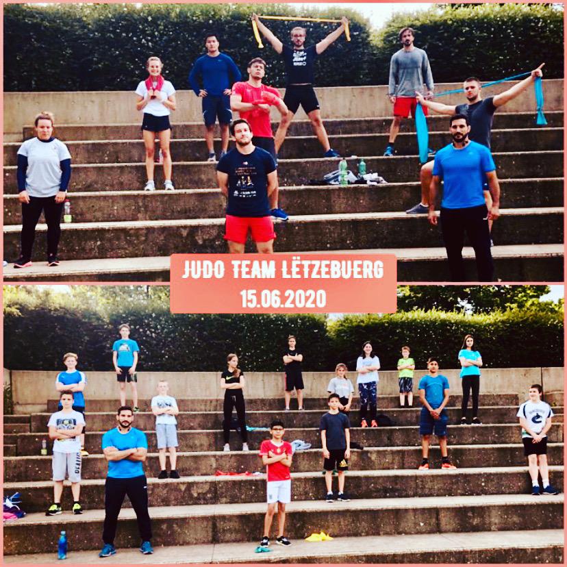 Aktiv, sportlech a motivéiert trotz Kontaktverbuet!