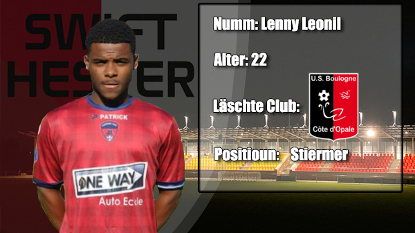 Transfer: Lenny Leonil