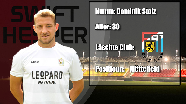 Transfer: Dominik Stolz