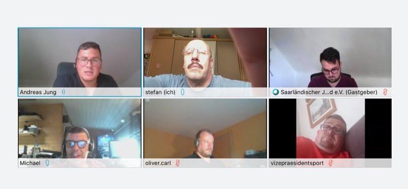 Erfahrungsaustausch und interessante Gespräche beim 1. Online-Stammtisch des SJB