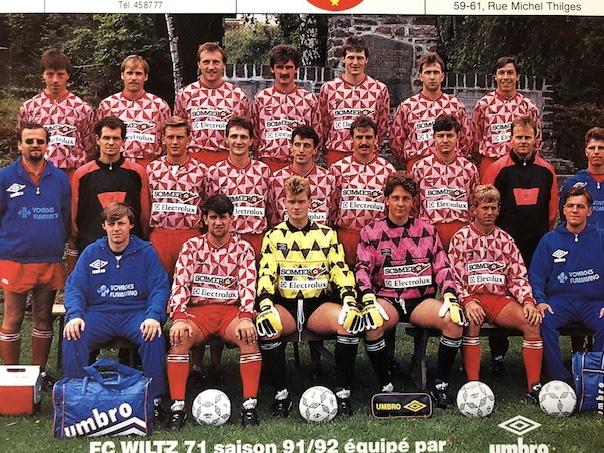 1991-1992 : Erneut nur ein Jahr in der Nationaldivision