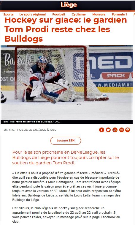 La Meuse web de ce 5 juillet 2020