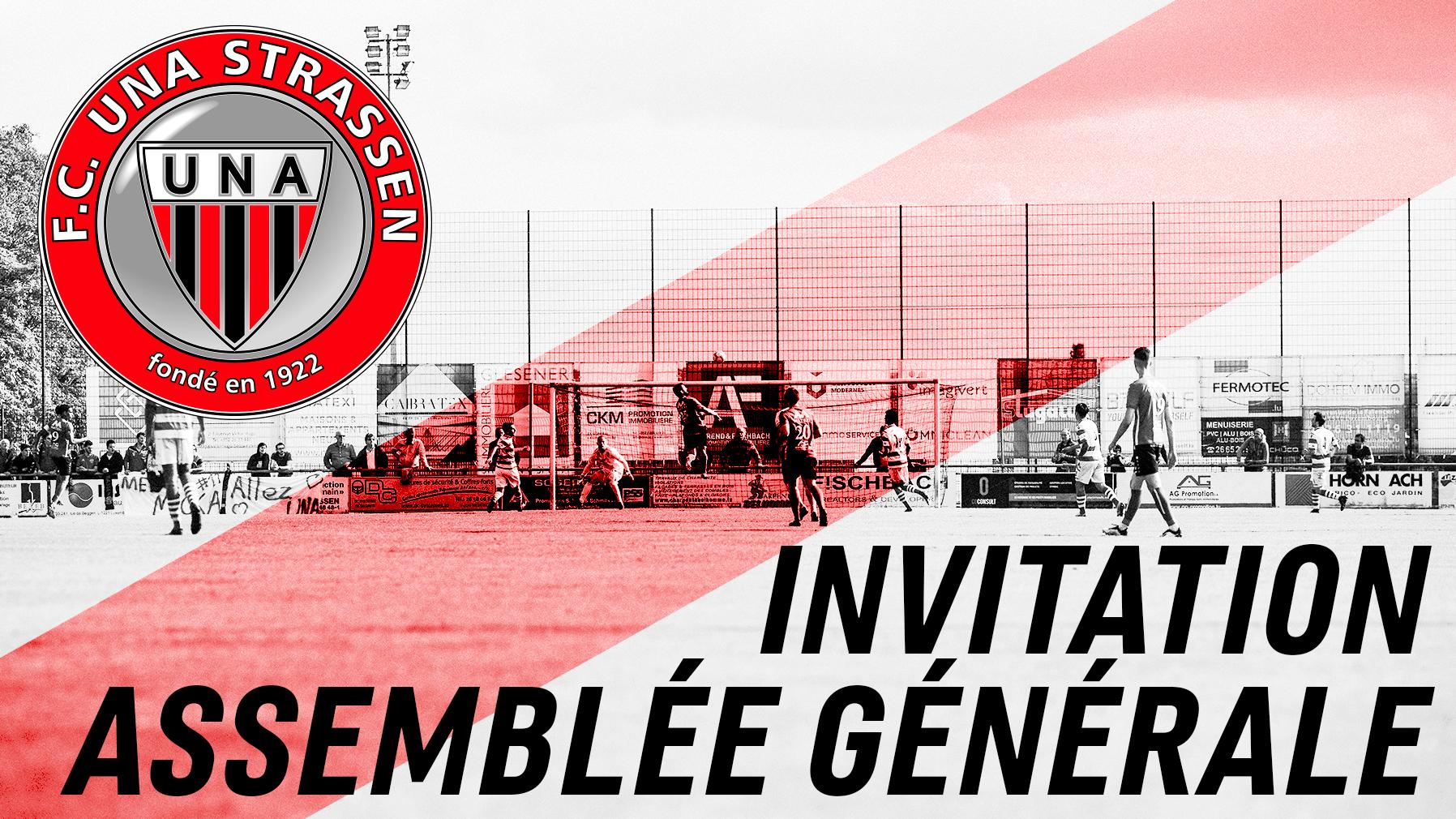 Invitation Assemblée Générale