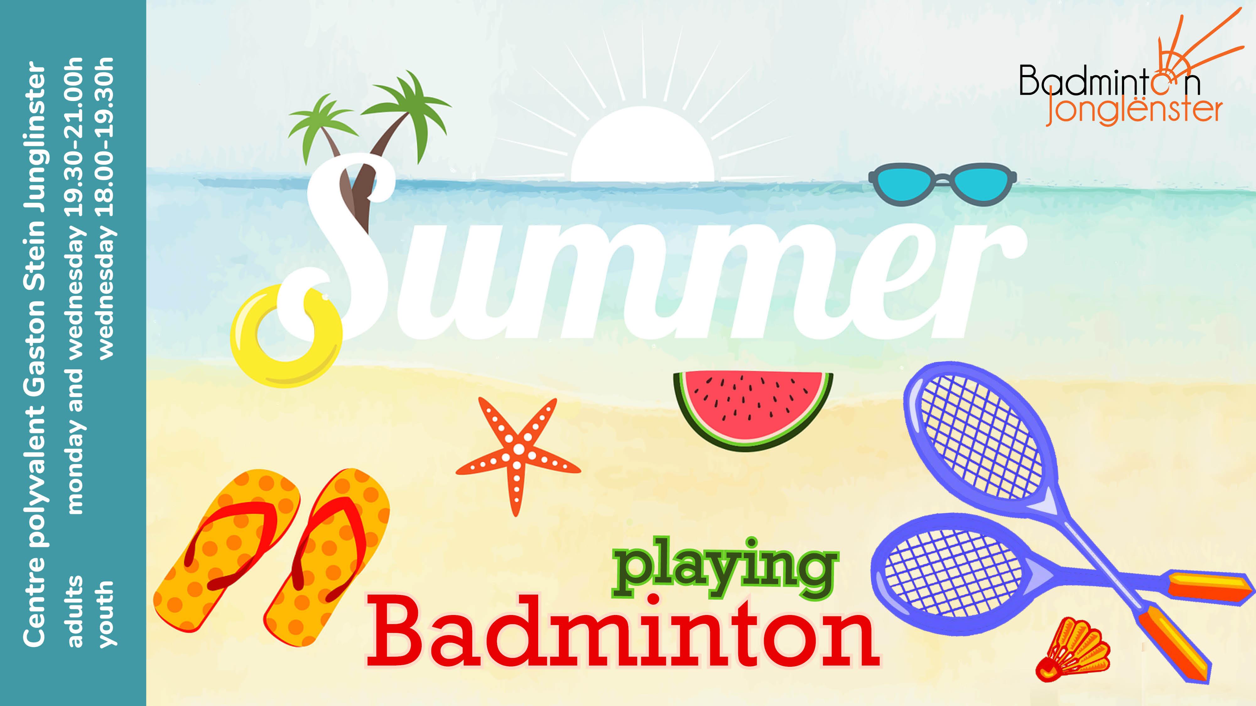 Envie de jouer pendant les vacances d'été ?