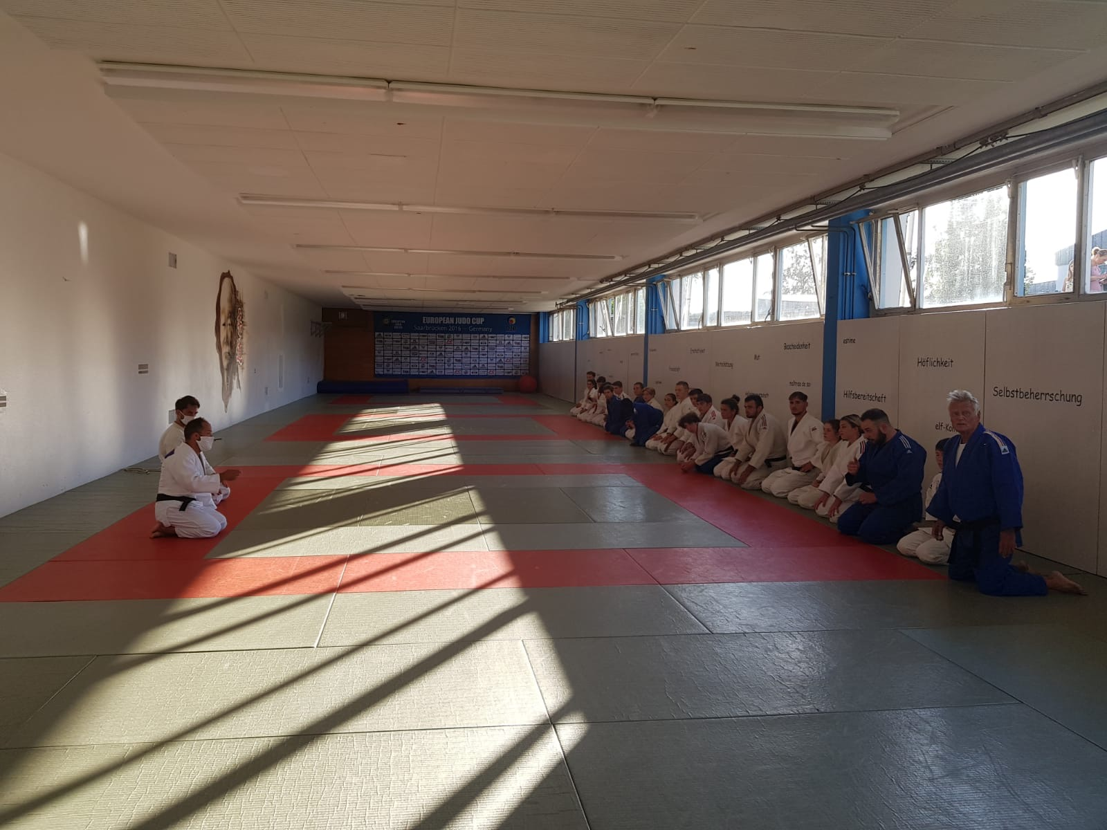 Interreg Judo Training Saarbrücken - 22.07.2020