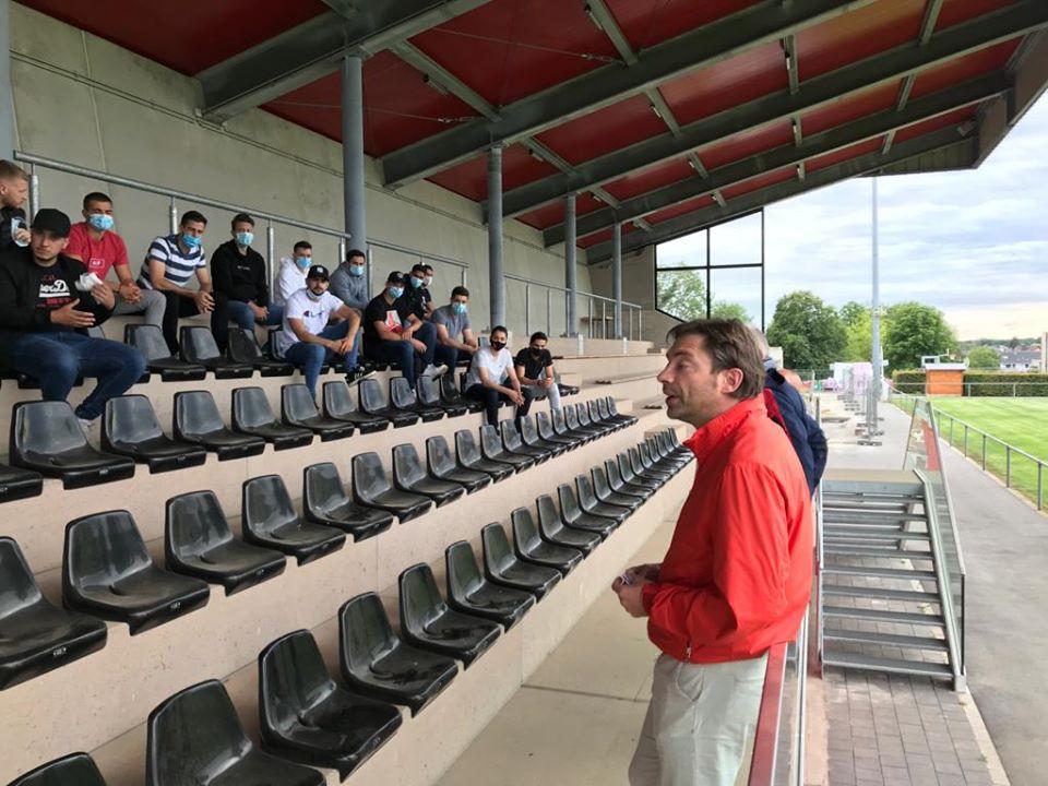 Trainingsufank beim FC Kielen.