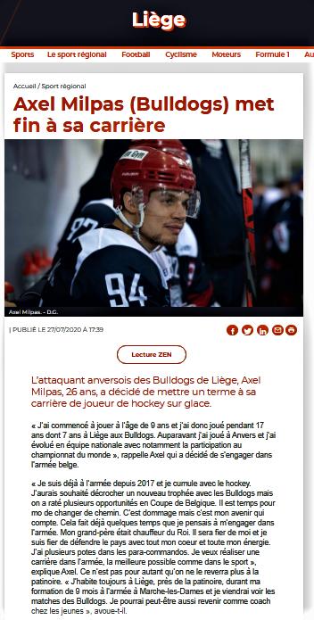 La Meuse web 27 juillet 2020