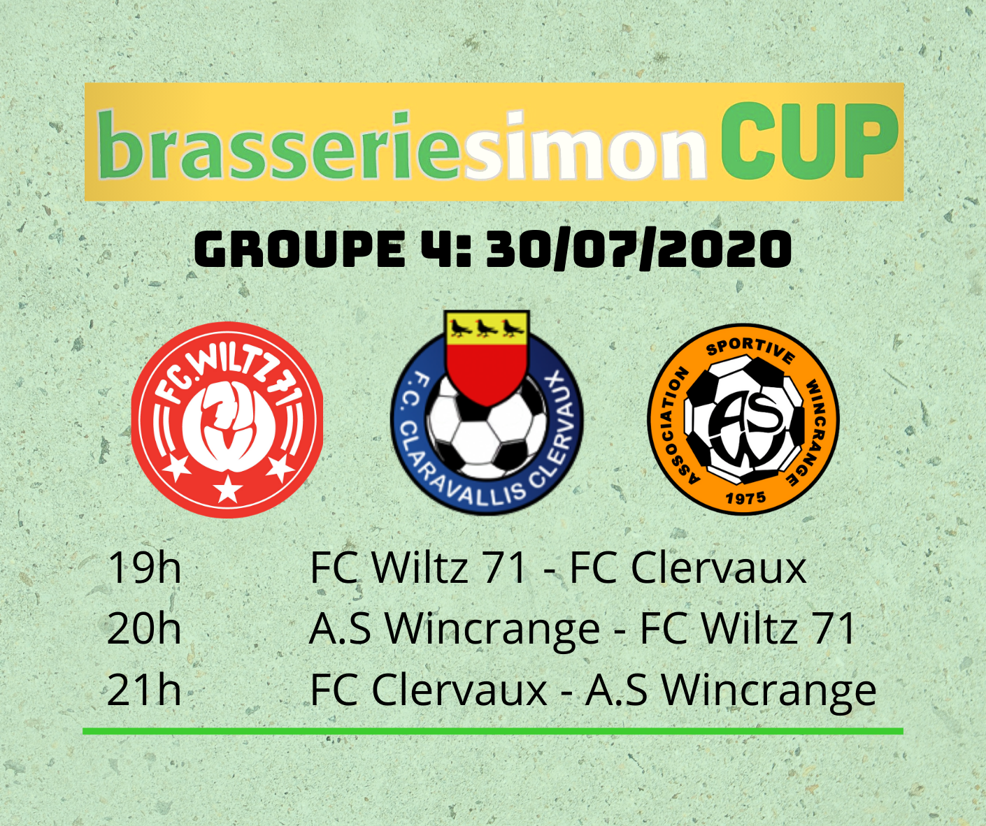 Brasserie Simon CUP: TAG 3 - 4