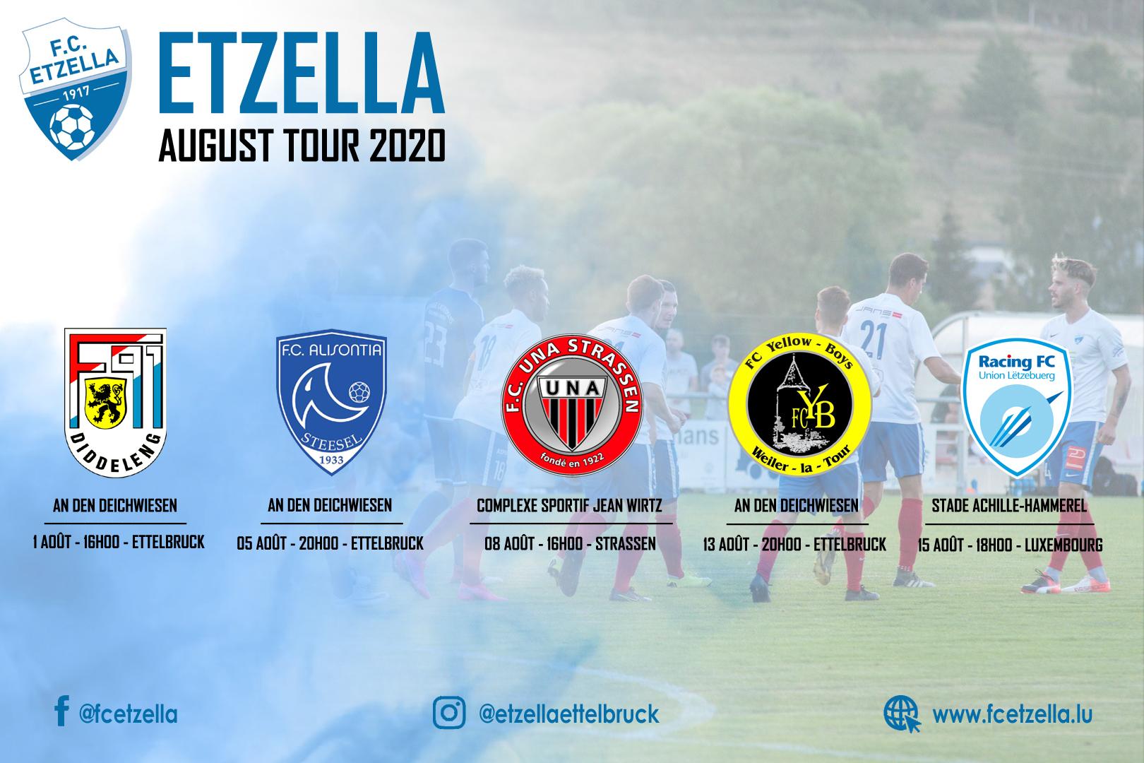 ETZELLA AUGUST TOUR 2020