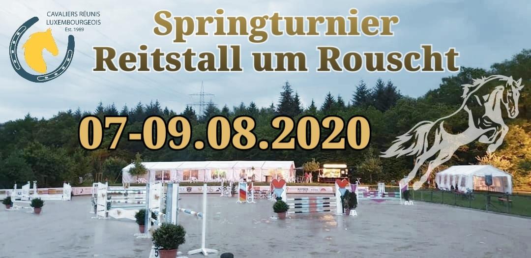 Zeiteinteilung Springturnier Roost 07-09.08.2020