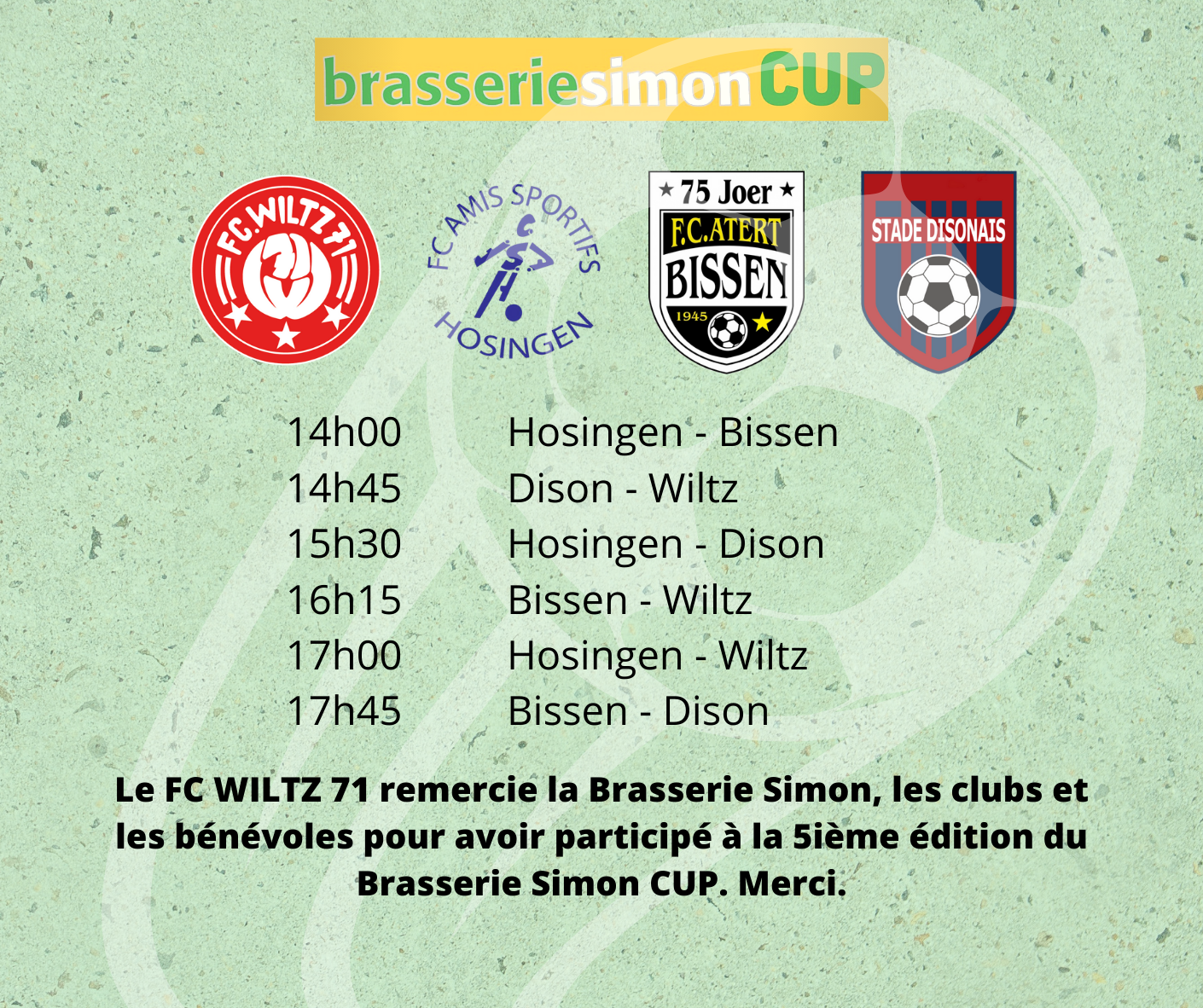 Brasserie Simon CUP: Letzter Tag