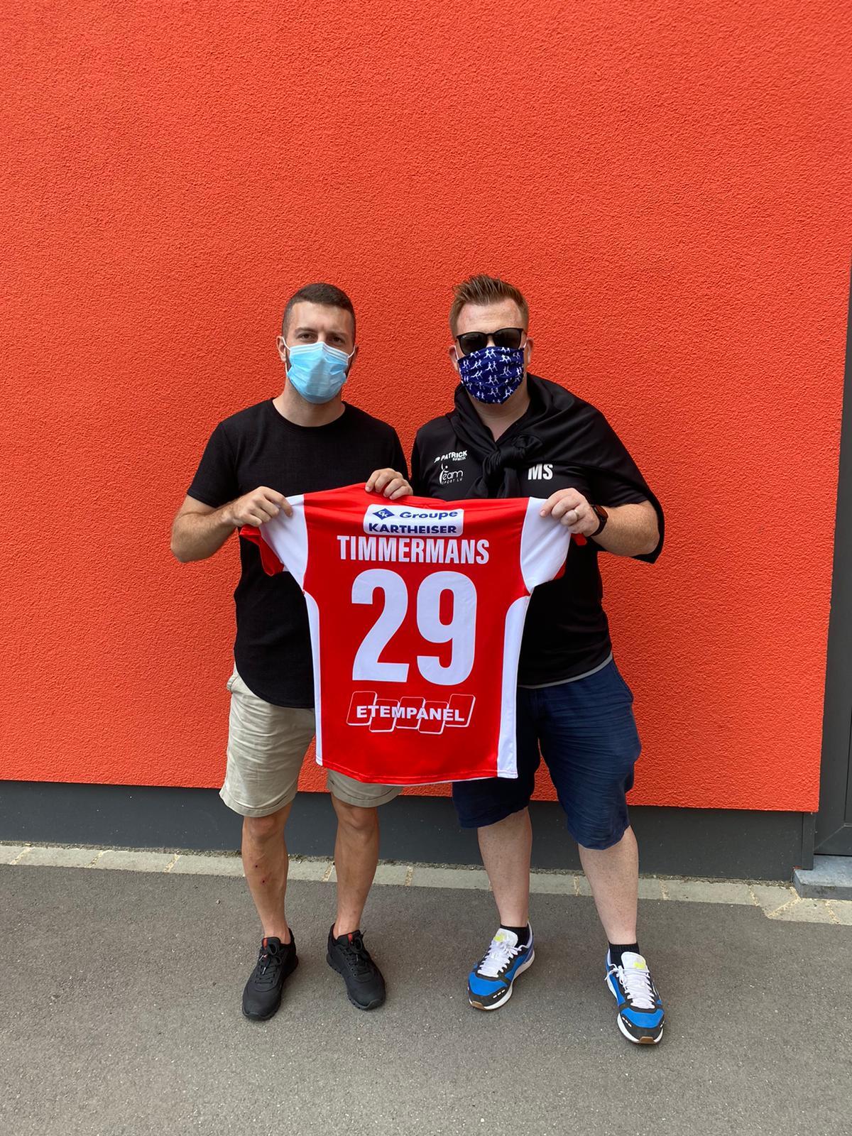 David Timmermans: Bis 2023 beim FC Wiltz 71!