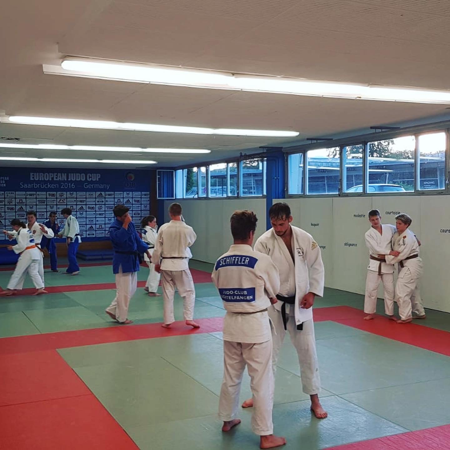 Interreg Judo Training - Saarbrücken 05.08.2020