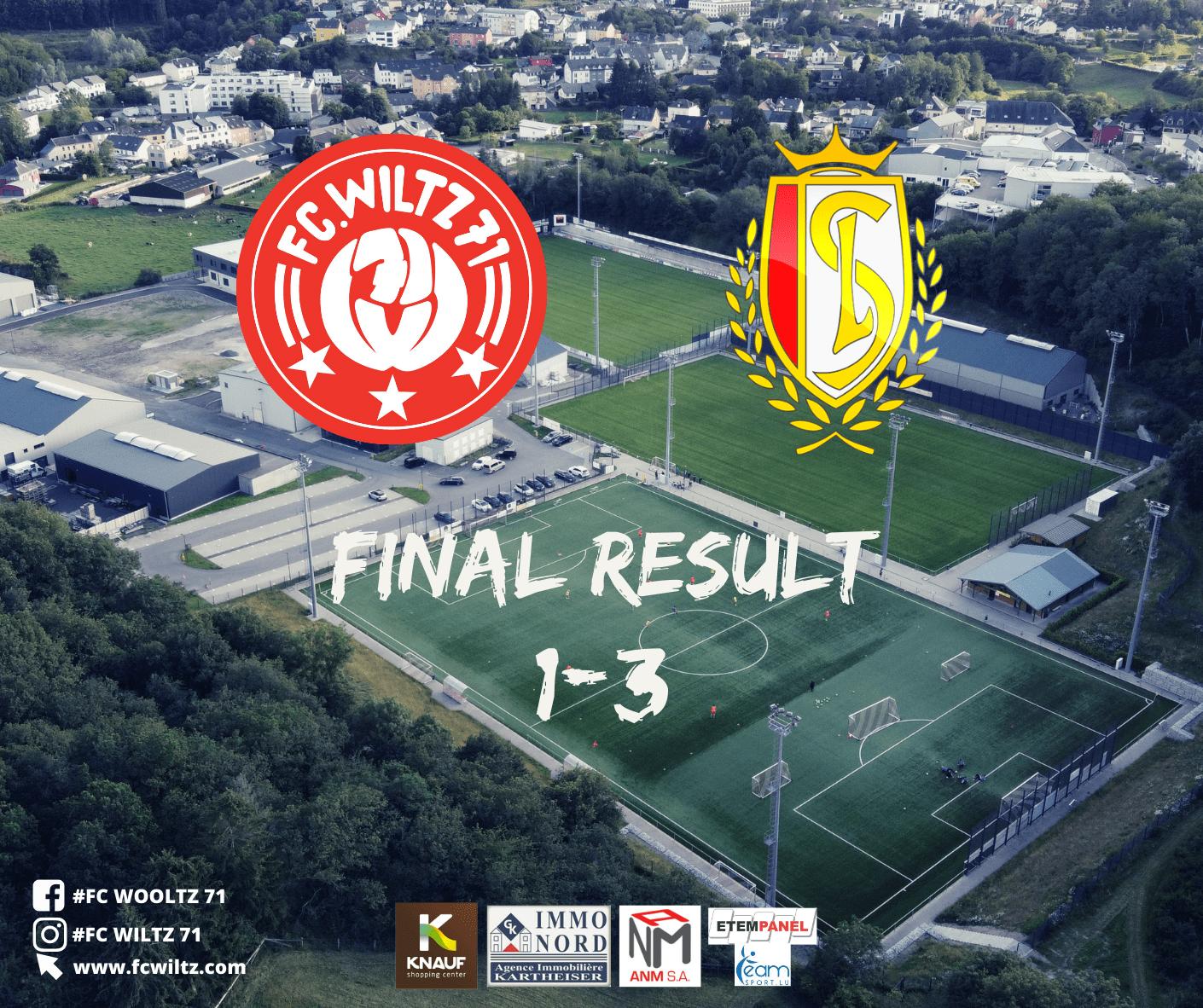 Final result: 1-3