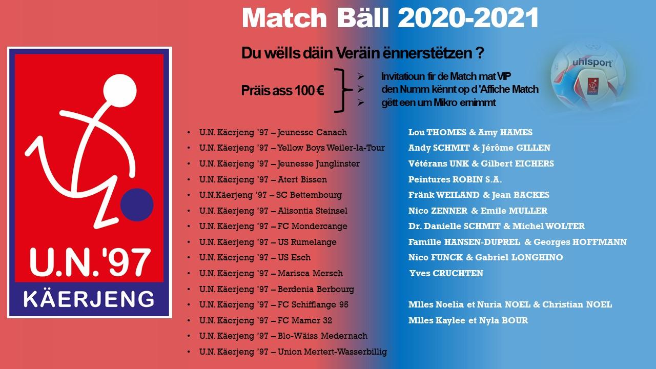 * Match Bäll 2020-2021 Update *