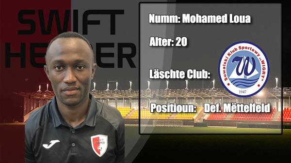 Transfer: Mohamed Loua