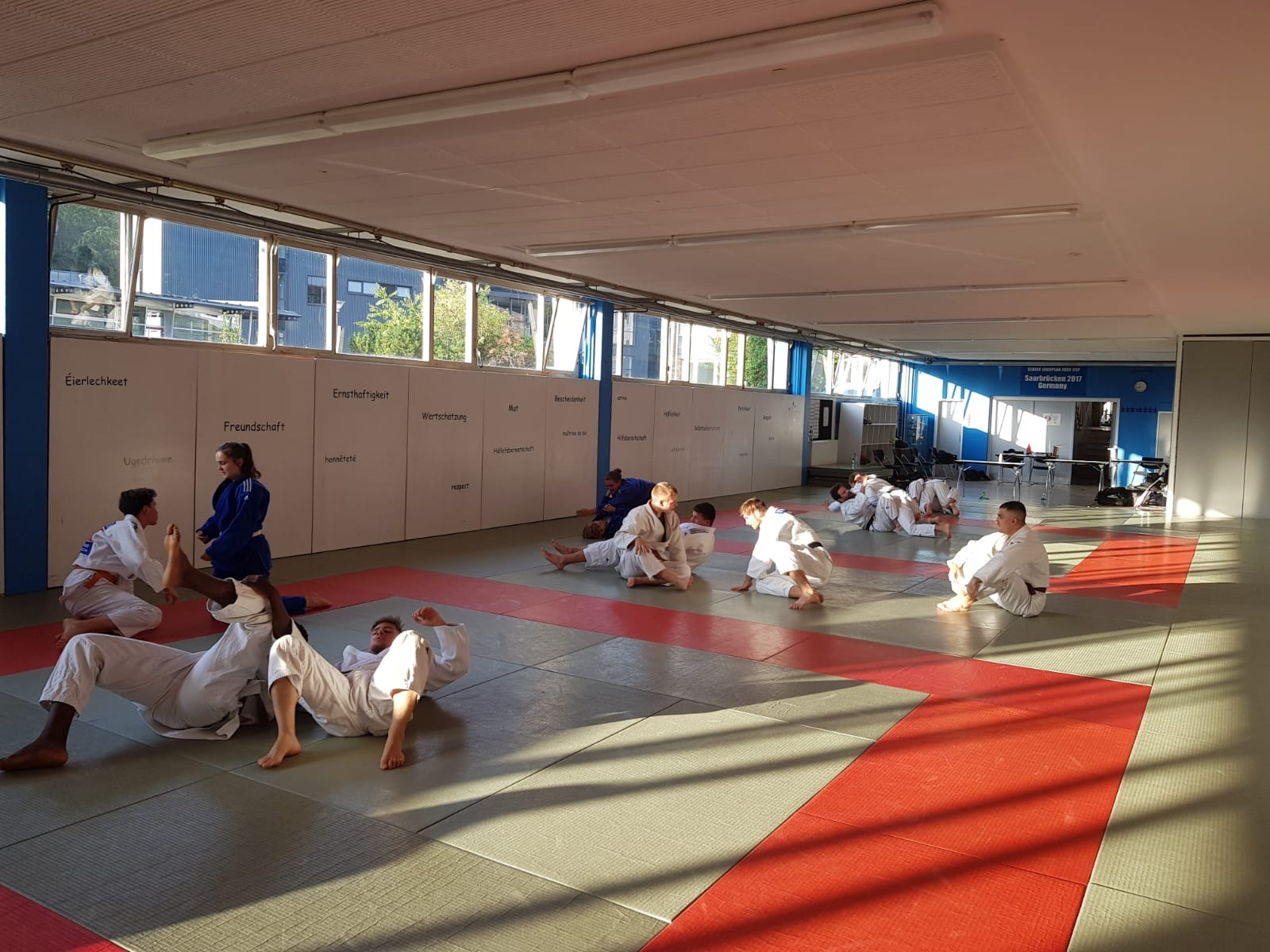 Interreg Judo Training - Saarbrücken 12.08.2020
