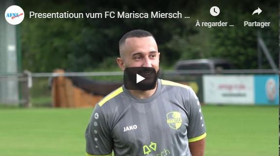 Presentatioun vum FC Marisca Miersch Saison 2020/21