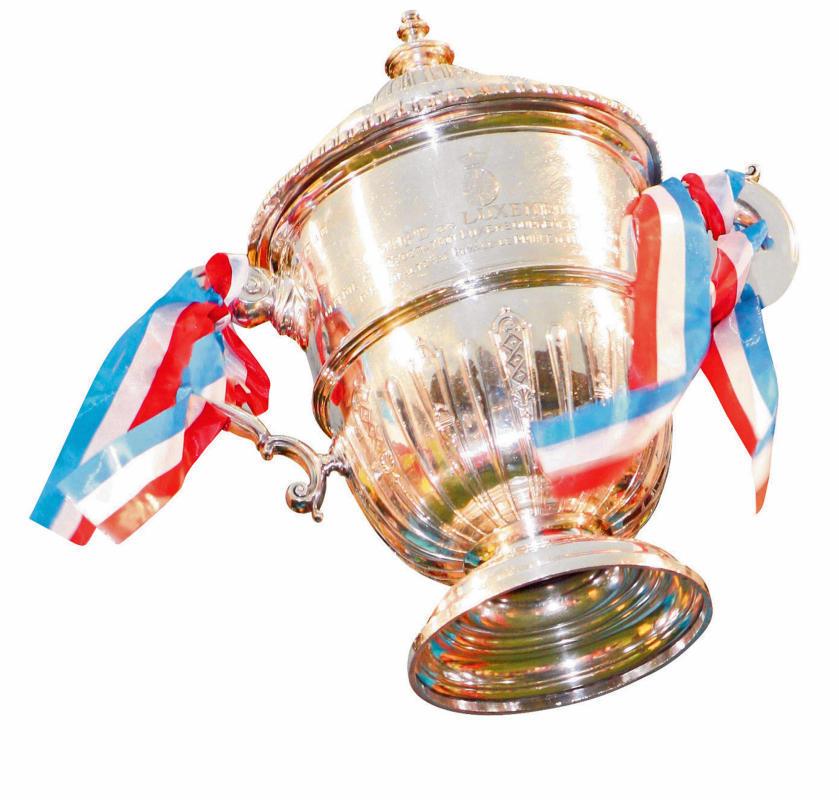 Auslousung Coupe de Luxembourg an Coupe FLF