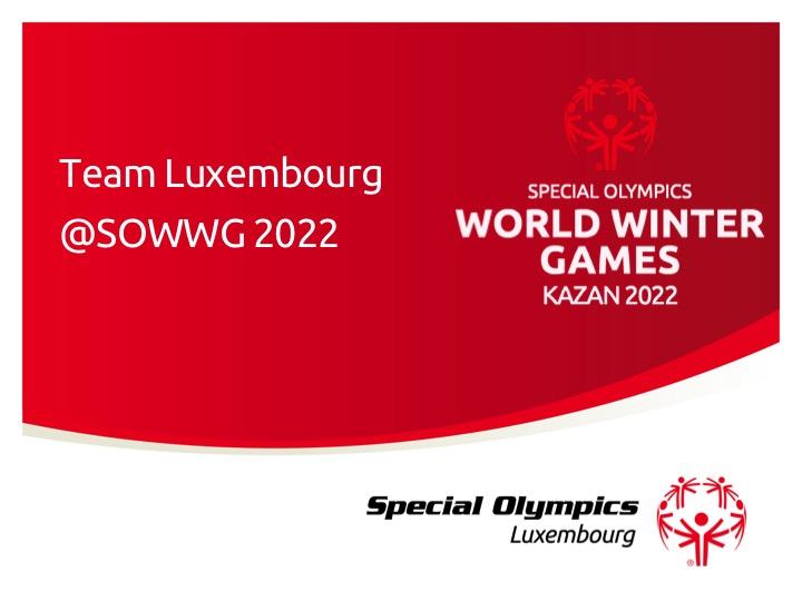 Sélection de l'équipe pour les Jeux Mondiaux 2022