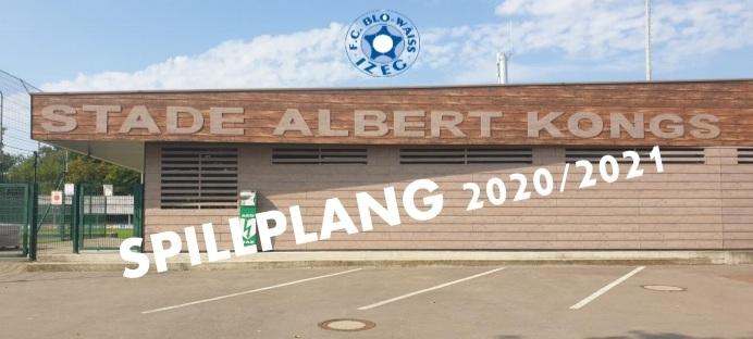 SENIORS 1 - SPILLPLANG SAISON 2020/2021