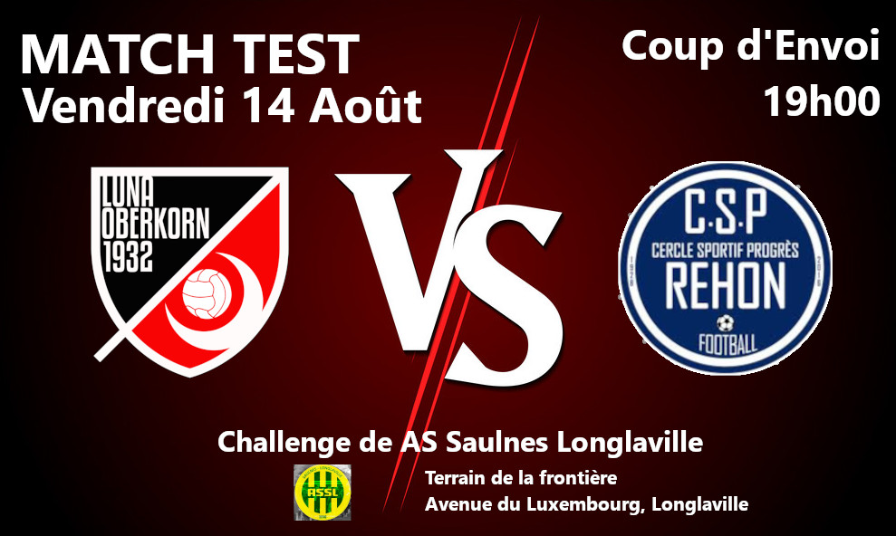 Saison 2020 / 2021 Match Test #4
