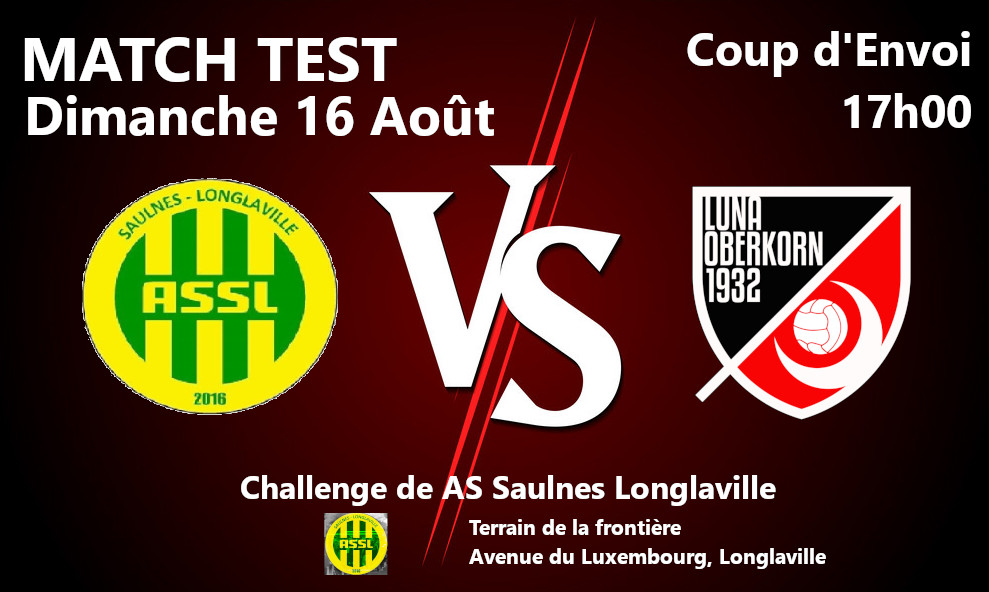 Saison 2020 / 2021 Match Test #5