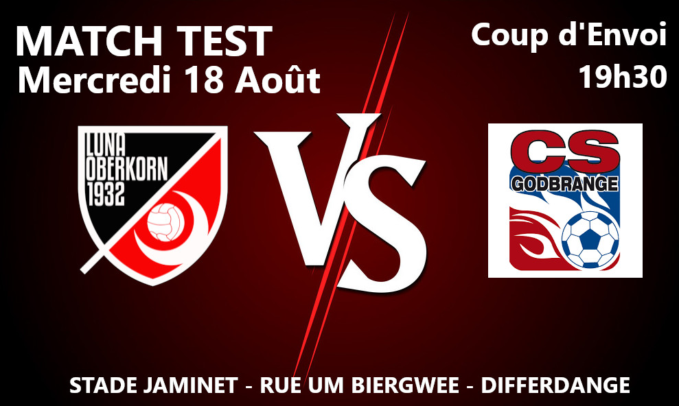 Saison 2020 / 2021 Match Test #6