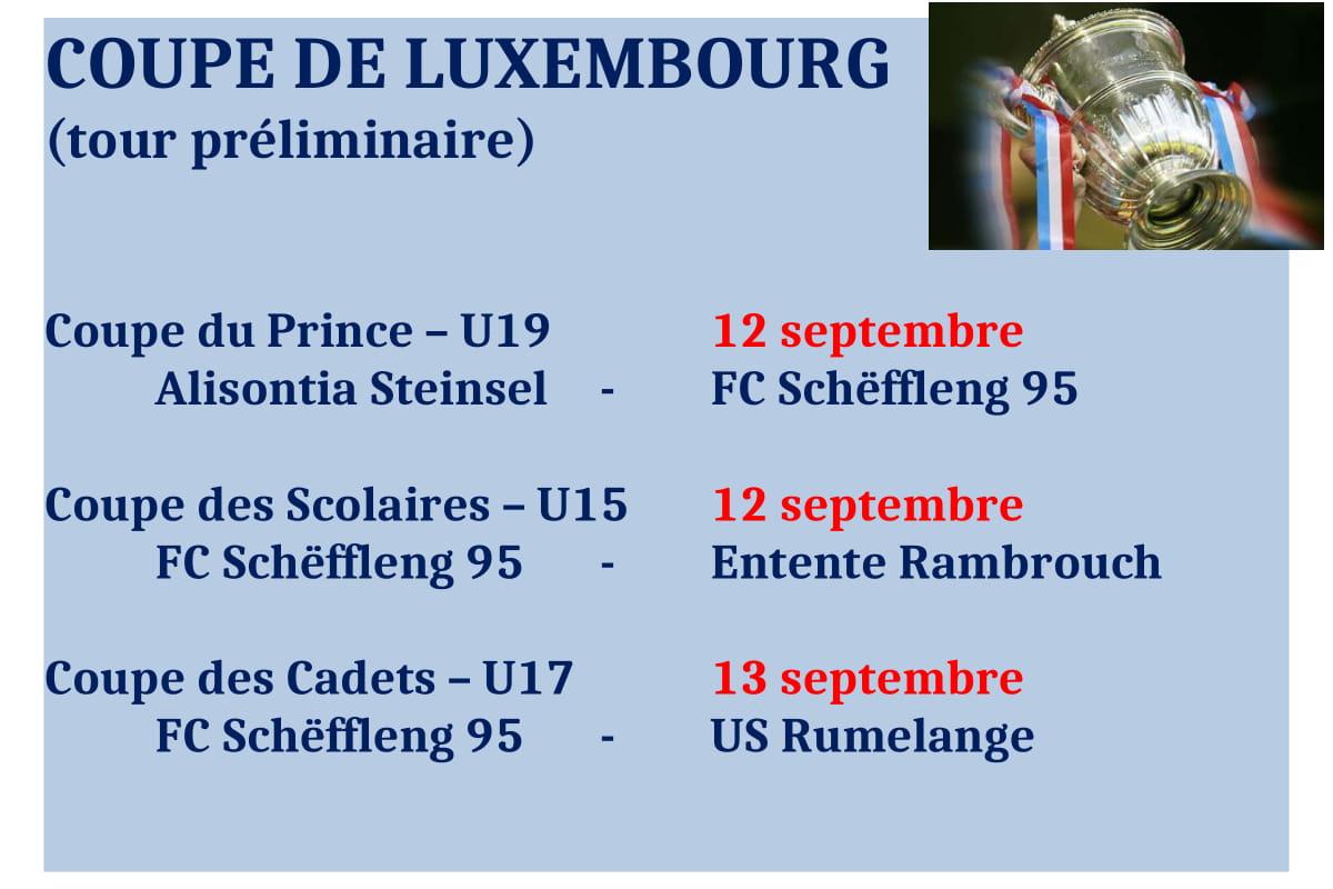 Coupe de Luxembourg (tour préliminaire)