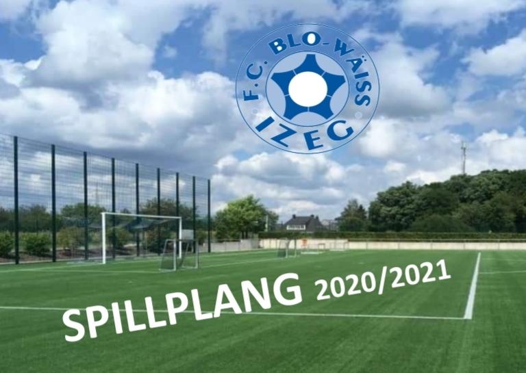 SENIORS 2 - SPILLPLANG SAISON 2020/2021