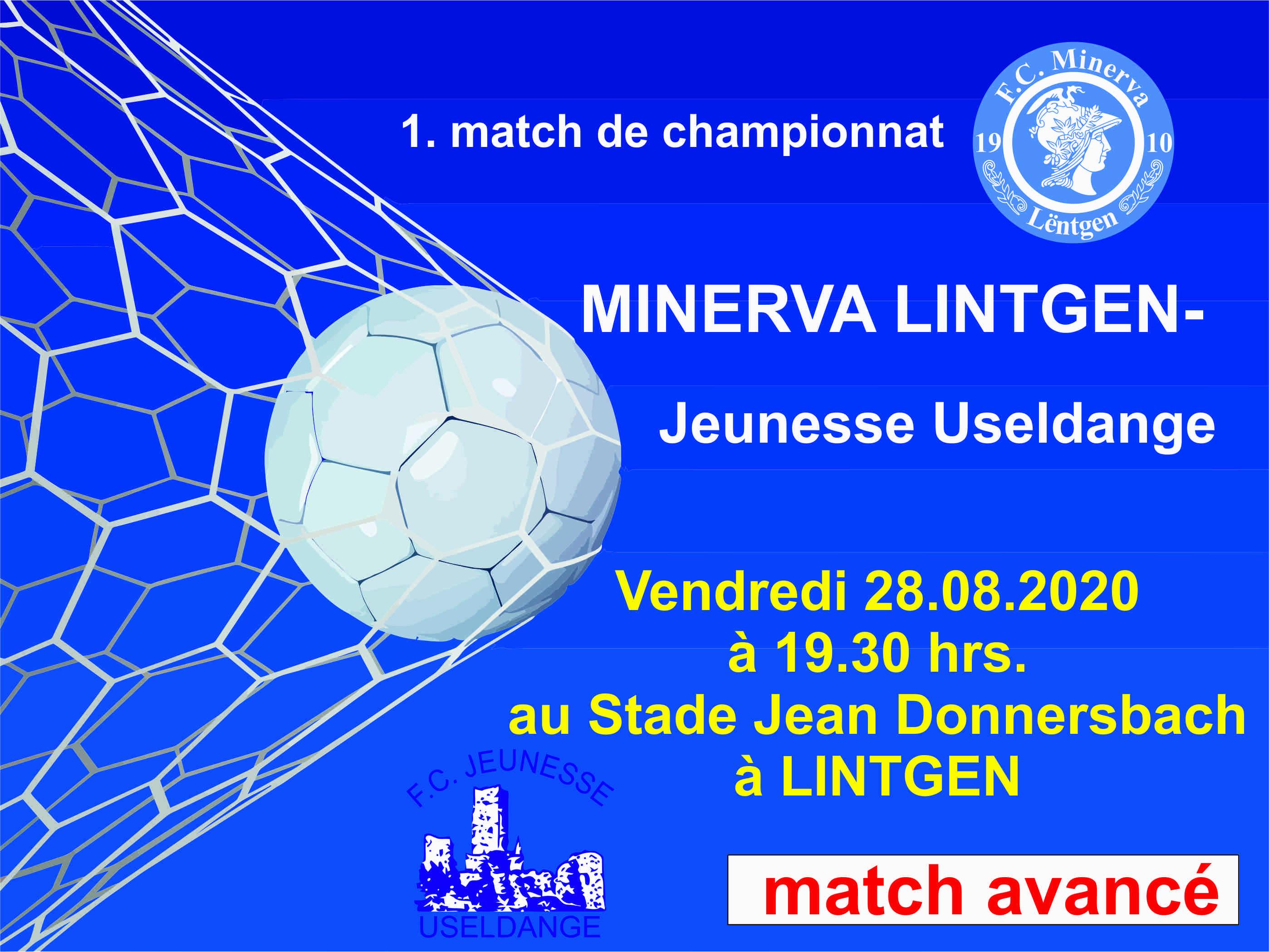 1. match de championnat 20/21