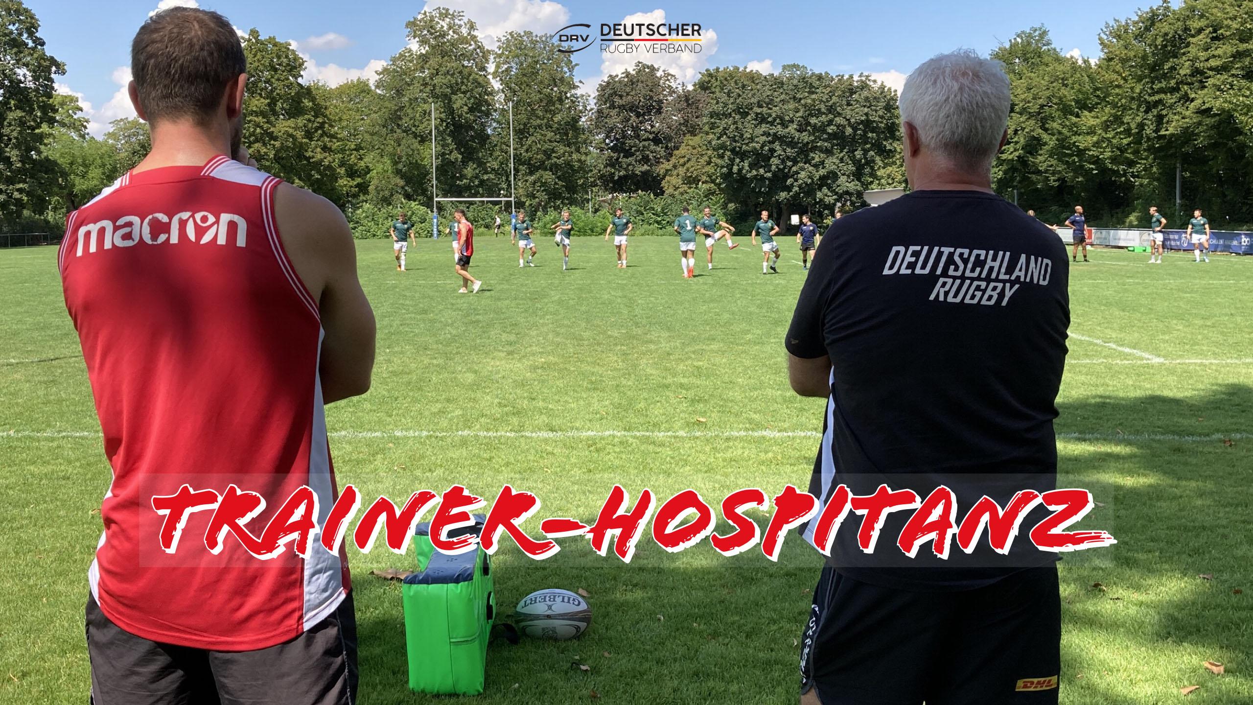 DRV bietet Möglichkeit einer Trainer-Hospitanz
