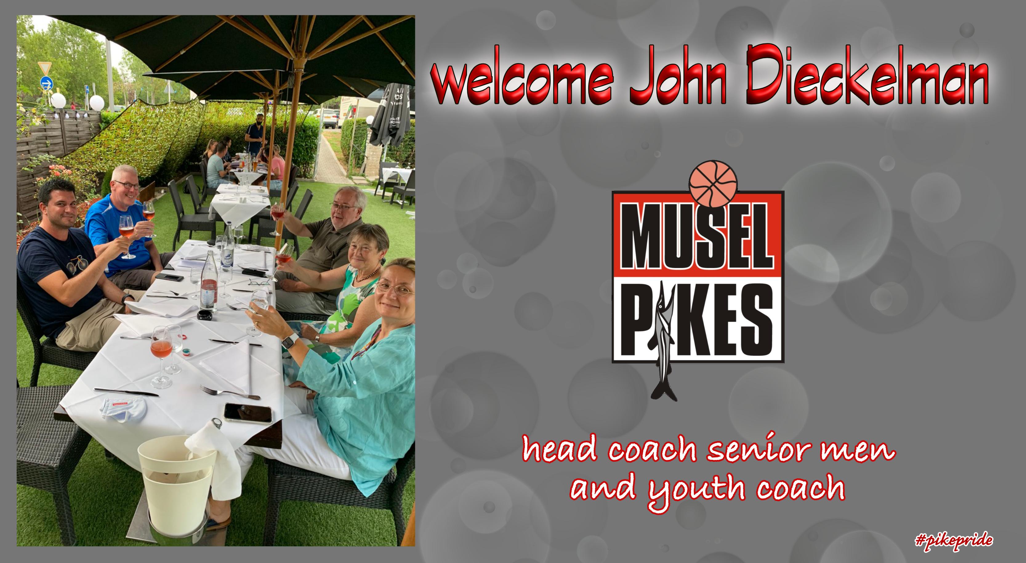welcome dinner with John Dieckelman
