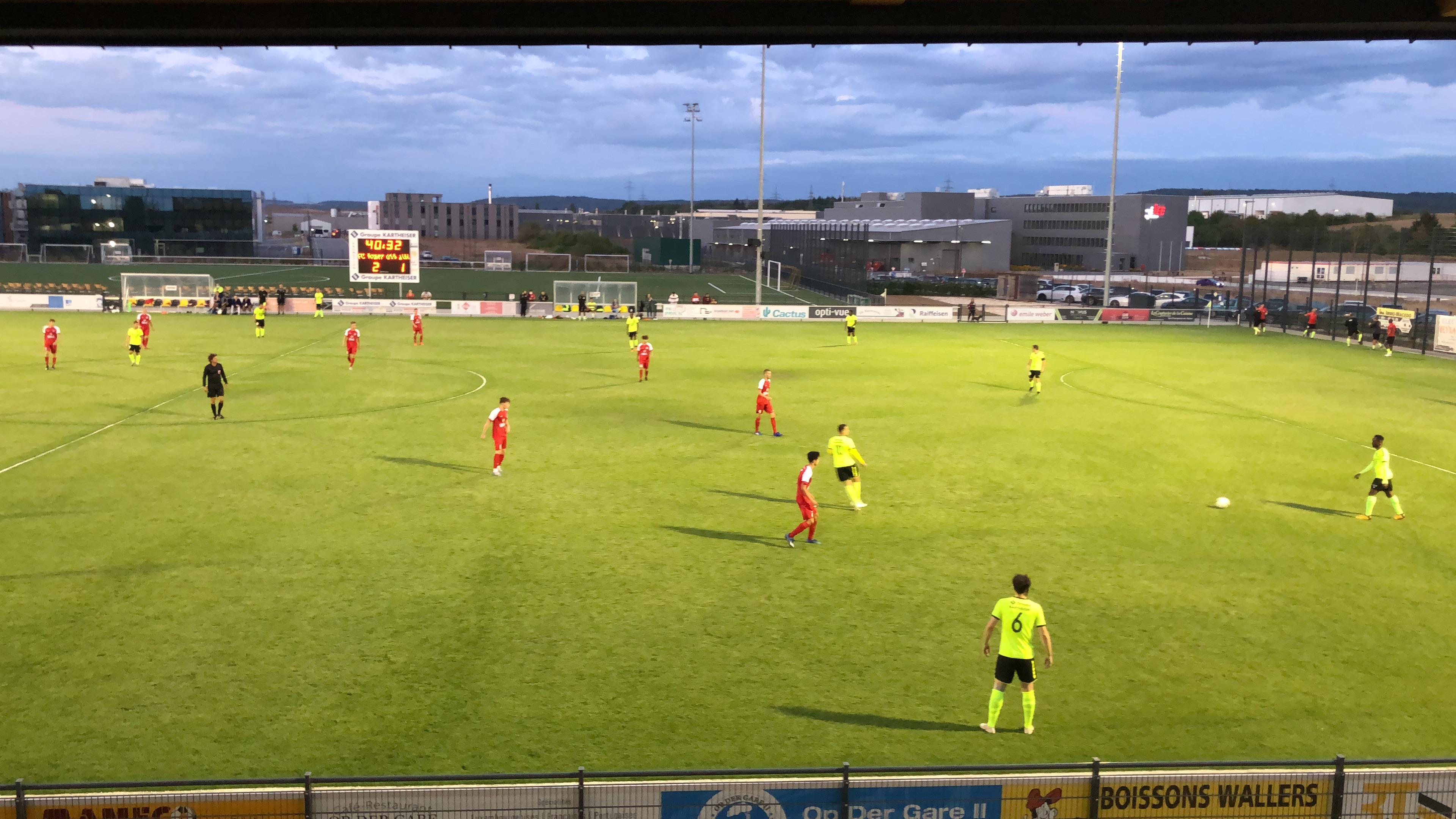 Bissen au bon chemin 5-2 contre l'U19 Luxembourg