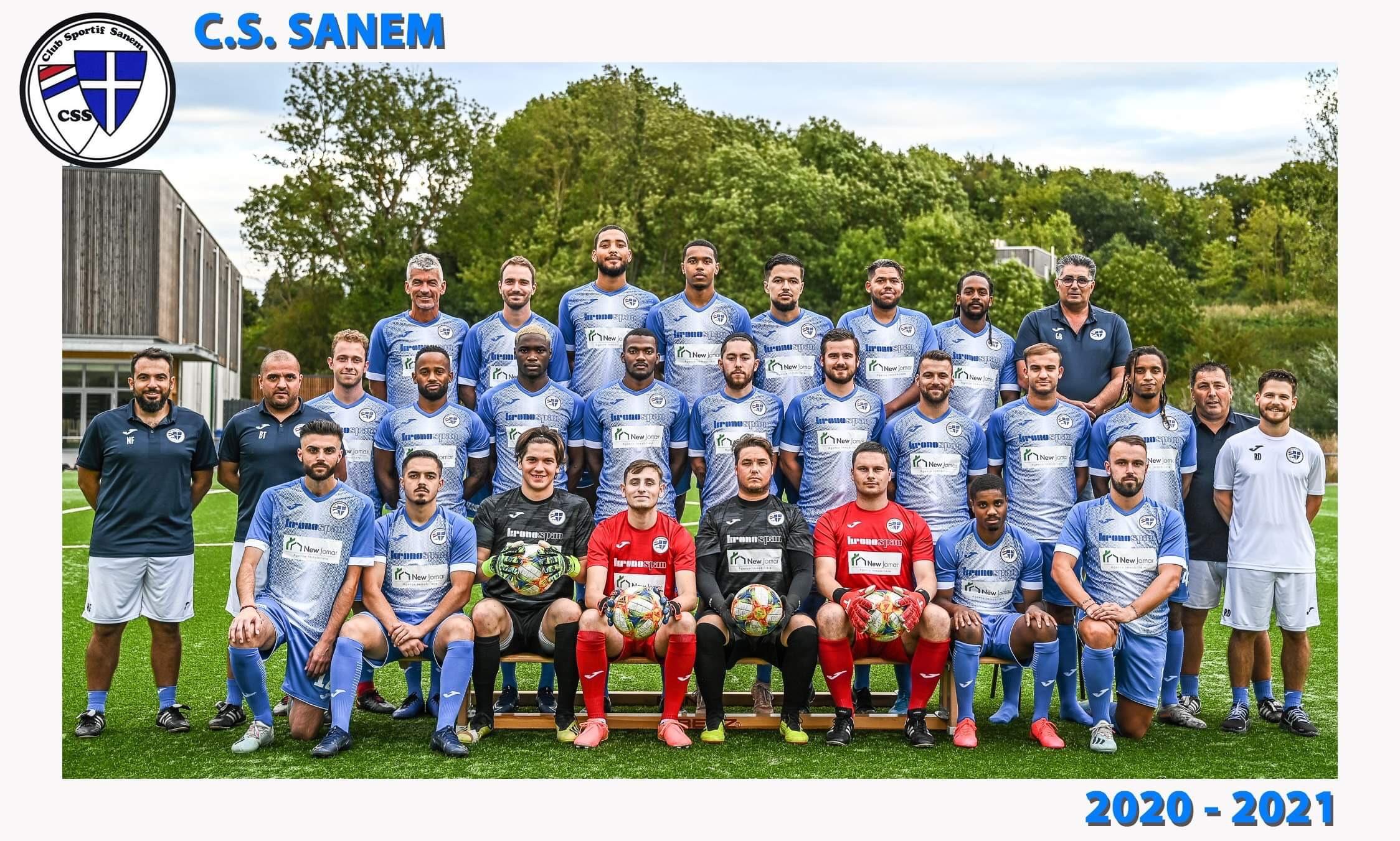 Ons néiEquipenfoto prett fir de Start vu der Saison 2020-2021 Seniors 1