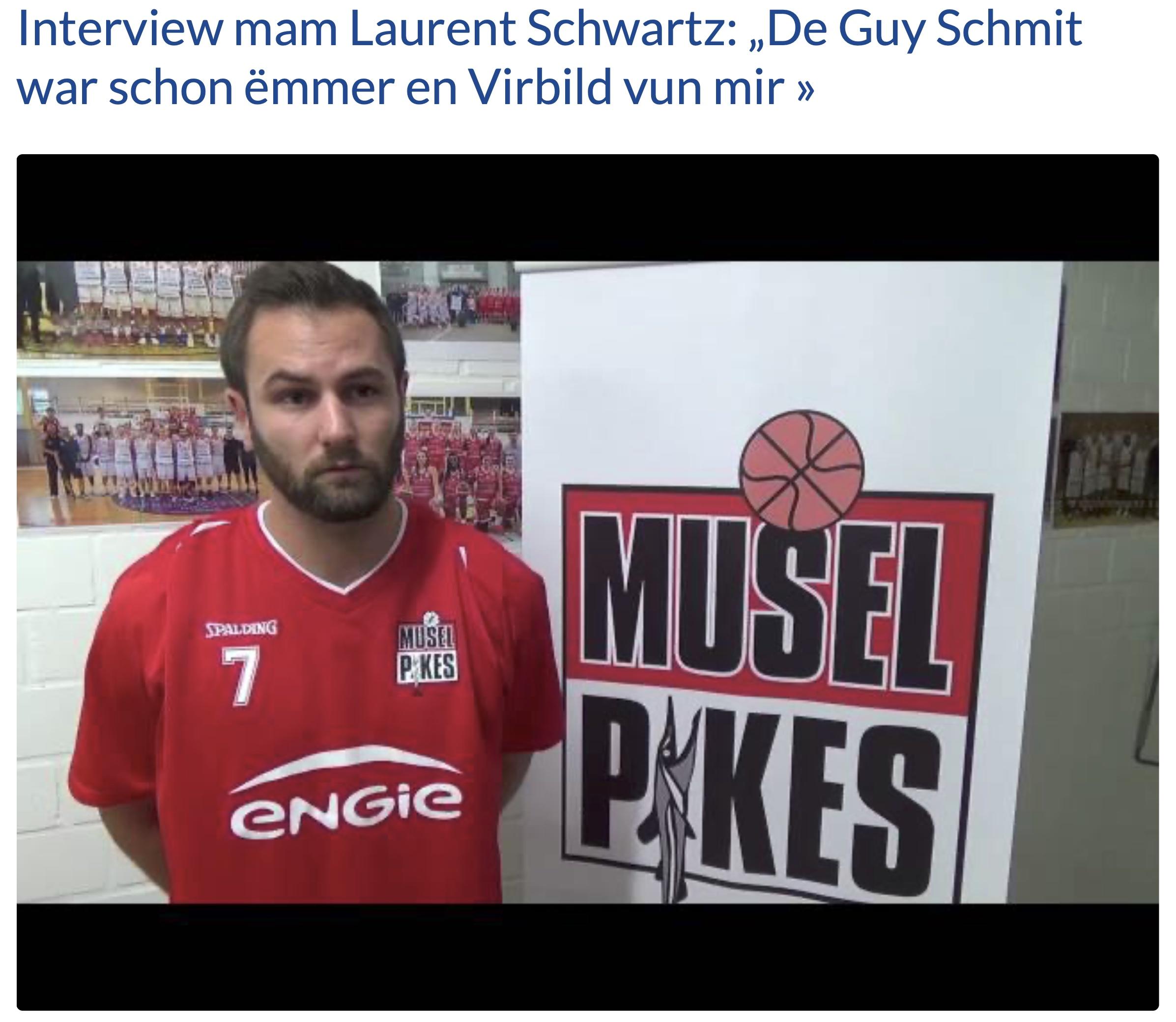 FLBB Interview mam Laurent Schwartz