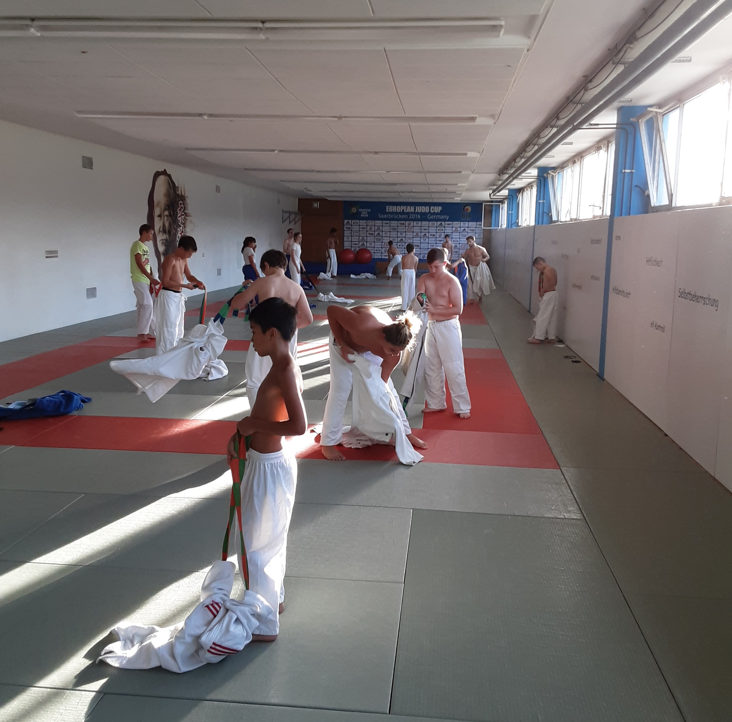 Interreg Judo Training - Saarbrücken 26.09.2020