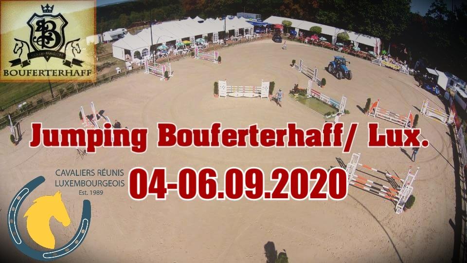 Zeiteinteilung Springturnier Bouferterhaff 04-06.09.2020