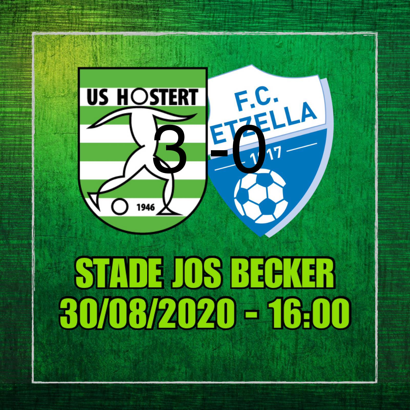 US HOSTERT - Etzella Ettelbruck 3-0 (2-0)