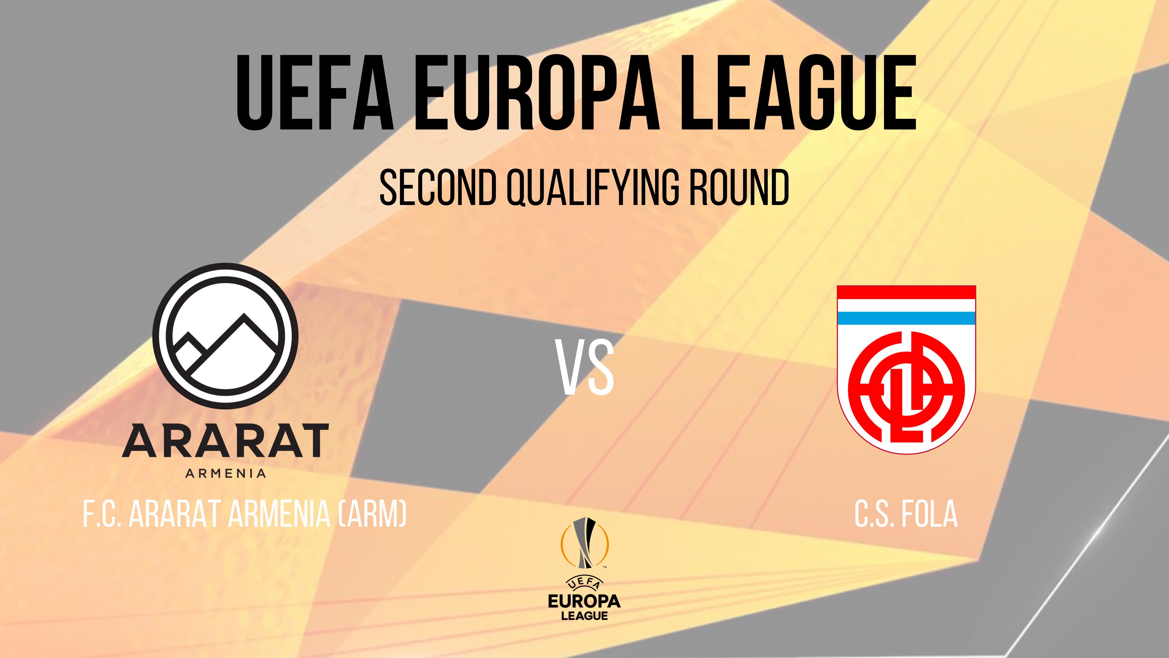 UEFA Europa League | FC Ararat Armenia-CS Fola Esch