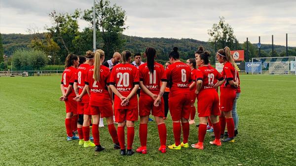 Coupe des Dames: 9:0 Victoire zu Steesel!