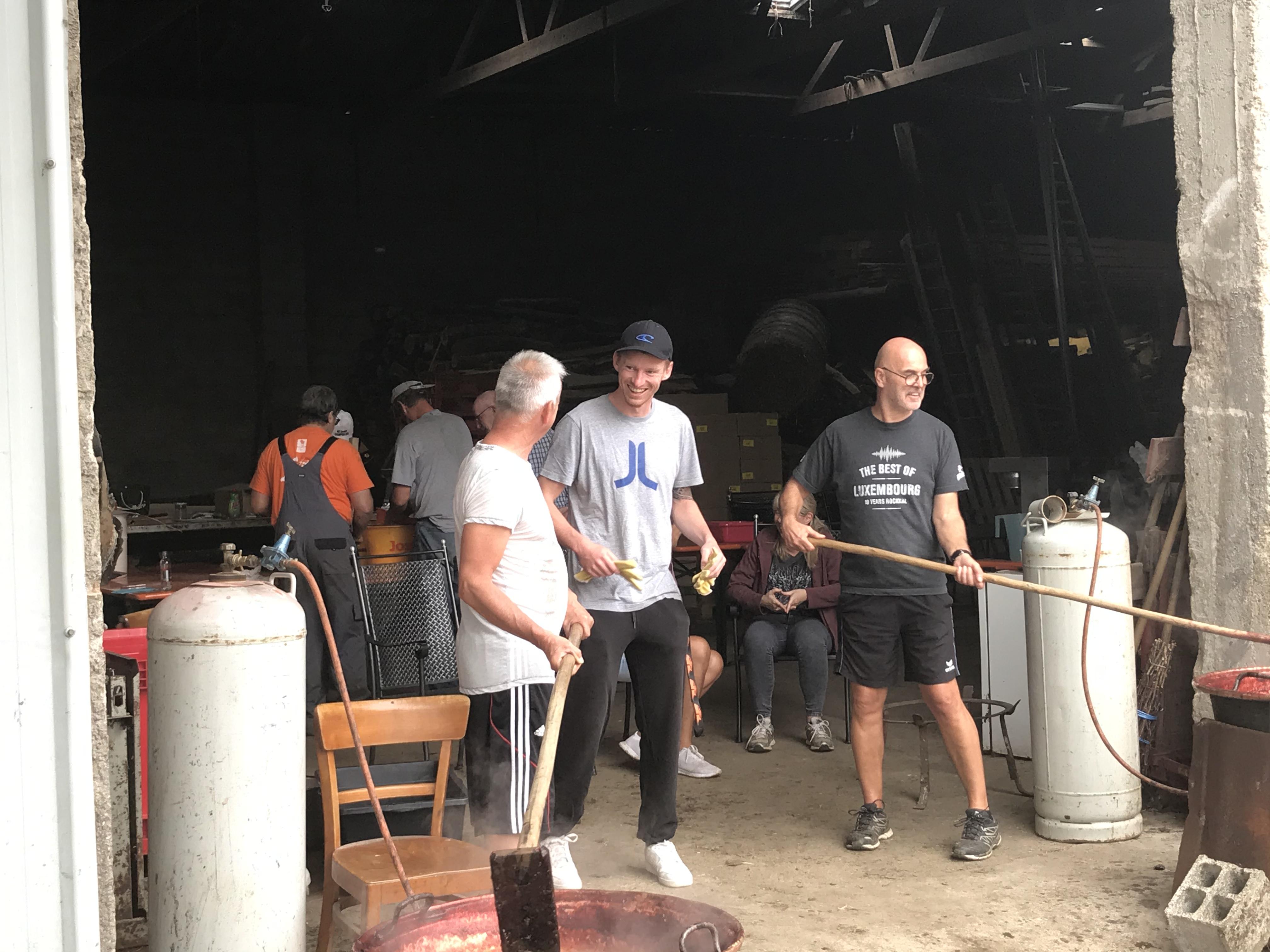 Quetschekraut. AB Contern