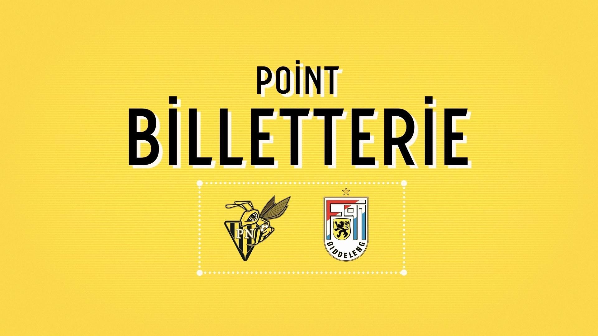 POINT BILLETTERIE : Progrès Niederkorn - F91 Diddeleng