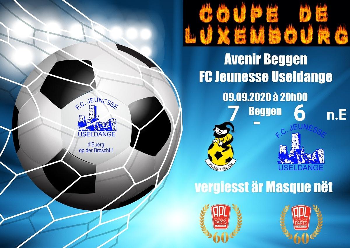 Bericht coupe de Luxembourg