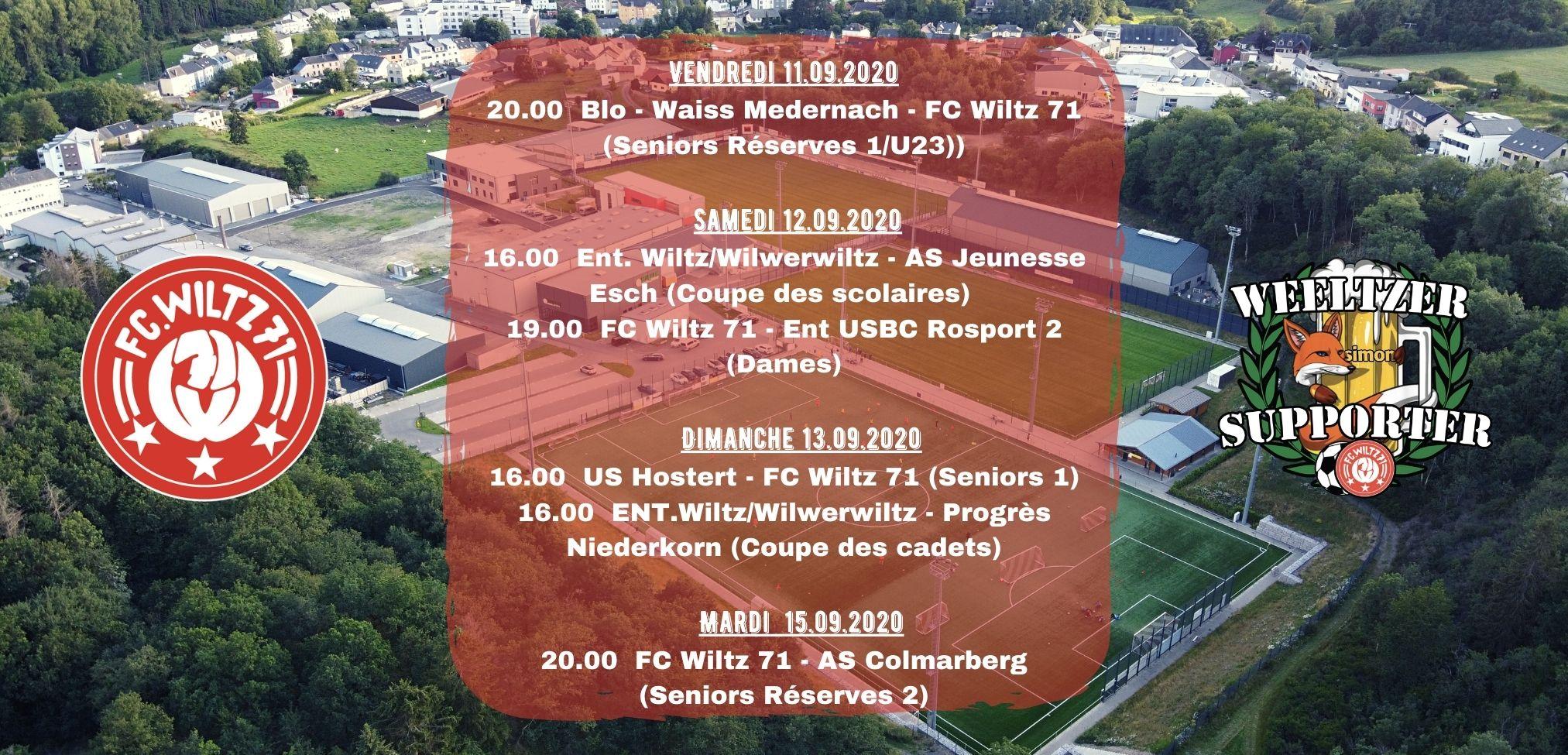 Spielplan für das Wochenende! Support your club!