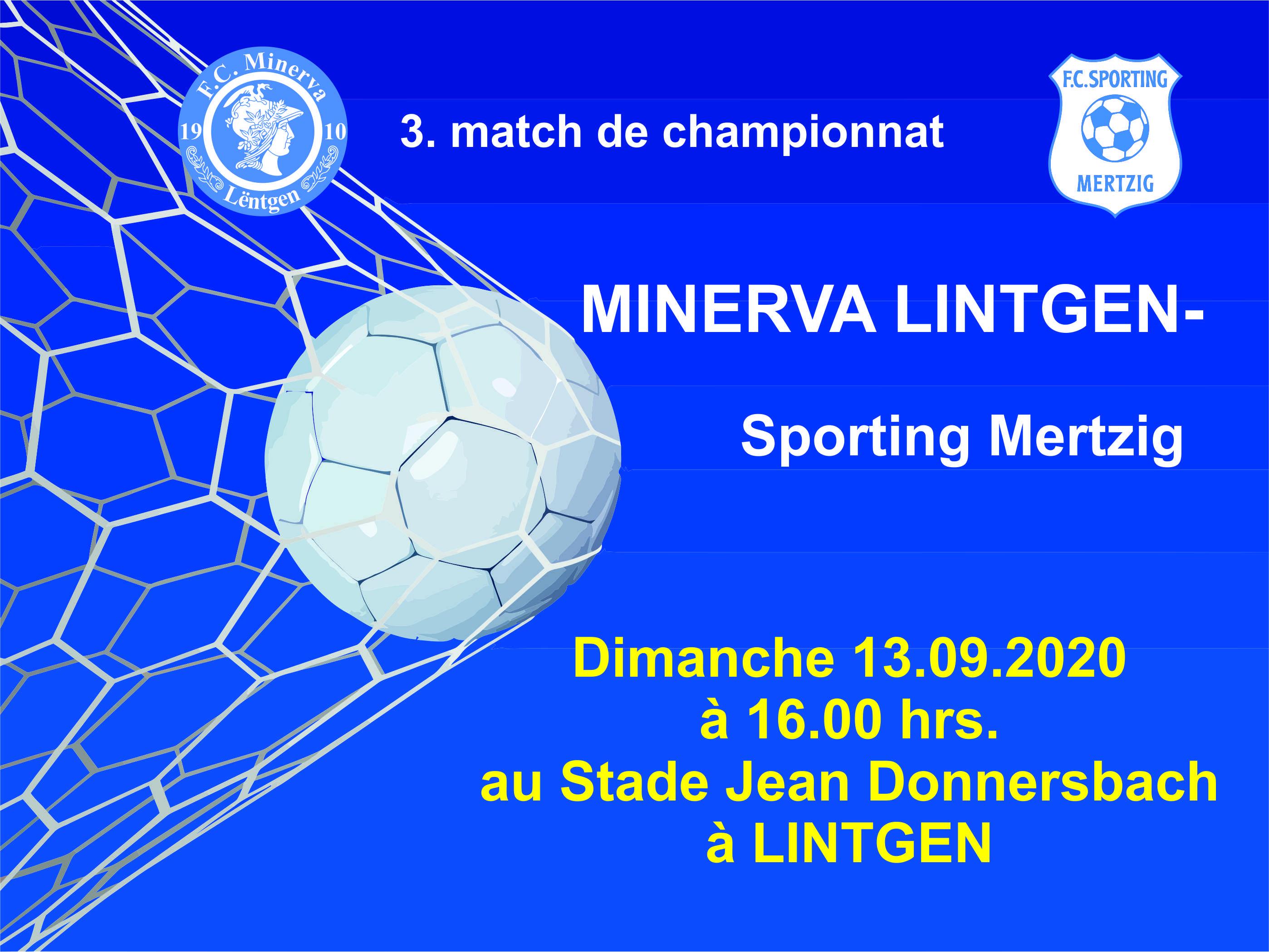 3. match de championnat