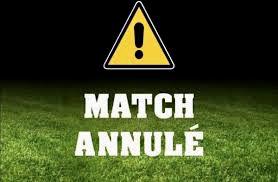 Match annulé