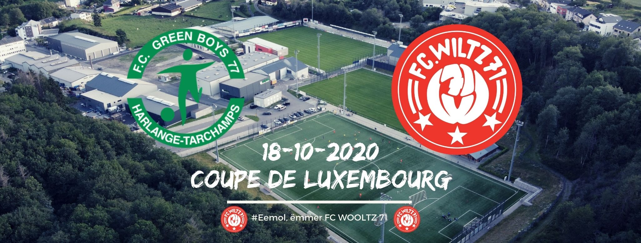 COUPE DE LUXEMBOURG: FC GREEN BOYS 77 HARLANGE VS FC WILTZ 71